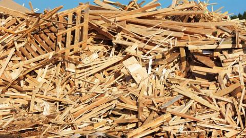 Hergebruik oud hout