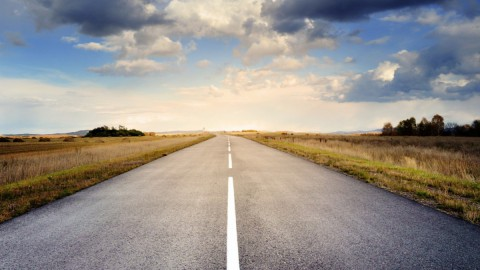 Werk aan de provinciale (vaar)weg