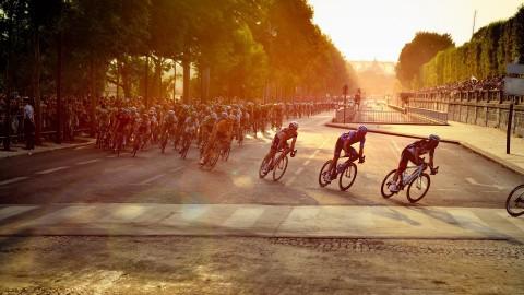 Cees Bol uit Alkmaar doet mee aan de Tour de France