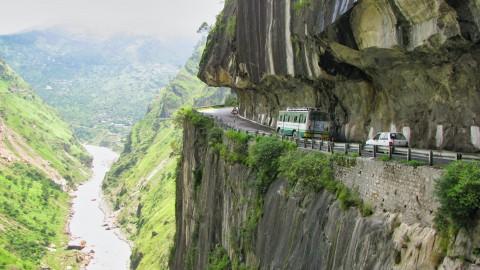 De gevaarlijkste wegen in de wereld