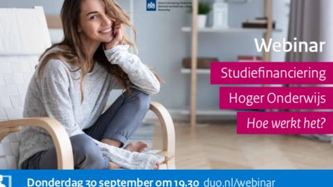 Voorlichting over Studiefinanciering hoger onderwijs: hoe werkt het?